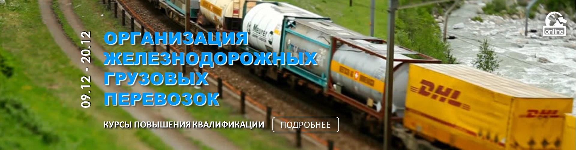 Организация железнодорожных грузовых перевозок